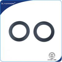 Buy cheap Double Side Serrated Safety Washer , Serrated Spring Washer Din 9250 product