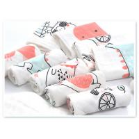 Buy cheap Square Face Organic Cotton Muslin Washing Cloth With Print In 6 Layers product