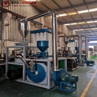 Buy cheap 500kg/H High Speed Rotor Chamber Pvc Pulverizer Machine product
