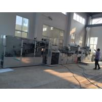 Buy cheap 0-50 M/Min Underpad Making Machine Disposable 55KW 380V 50HZ PLC Program Control, full automatic , new design product