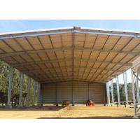 Buy cheap Metal Farm Fodder storage Open Bay Hay Sheds / Light Steel Structure Buildings product