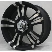 20 Inch Black Aftermarket Off Road Wheels with Machined face 4x4 Cheap Alloy Rims for Pickup and Trucks