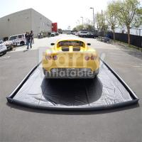 Buy cheap Commercial Air Sealed PVC Inflatable Car Wash Mat Easy Set Up product