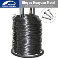 Buy cheap 2.5 Mm Stainless Steel Nail Wire Cold Drawn Steel Wire For Nail Making product