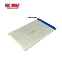 Buy cheap 3mm Thickness Tablet Lithium Battery For PC And Pad  3400mAh product