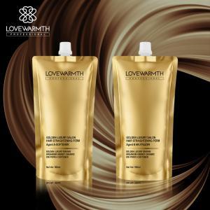 Buy cheap 1000ml Permanent Straightening Cream Hair Rebonding Aluminum Pouch product