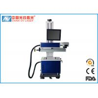 Buy cheap 10W / 60W Co2 Laser Engraving Printing Machine For Leather Plastic product