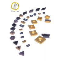 Hard Metal Tungsten Carbide Inserts For Machining Steel / Cast Iron 120-200M / Min