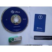 Buy cheap USB License Microsoft Office 2013 Key Code Office Home And Student 2013 1 DVD With Card product