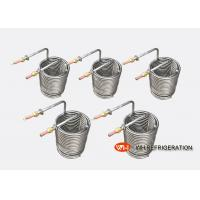 Buy cheap Water Tank Stainless Steel Heat Exchanger Coil Anti - Freezing Capability product
