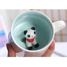 Buy cheap 3D Creative Animal 13.5x8.5x8cm Personalised Ceramic Mugs from wholesalers