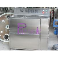 Buy cheap Double Heads Semi Automatic Glass Bottle Cleaning Machine For Beverage Filling Line product