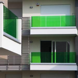 Buy cheap 2018 frameless glass balcony railing /Aluminum U channel glass balustrade product