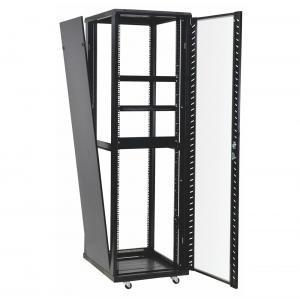 Buy cheap 42u 37u Perforated Door Network Equipment Rack Floor Standing Data Center Cabinet product