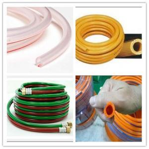Buy cheap 3 layers Vacuum pvc hose with long life reinforced pvc gaz LPG tubing product