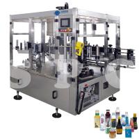 Buy cheap Automatic Self Adhesive Bottle Labeling Machine For Glass Plastic Round Bottles product