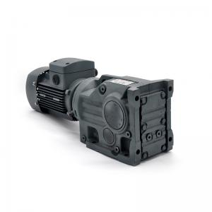 Buy cheap 8 Pole Bevel Helical Reducer Long Life Time Compact Right Angle Gearbox product