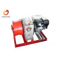 Buy cheap Gasoline Engine Gas Powered Winch , Take Up Machine Cable Pulling Winch product