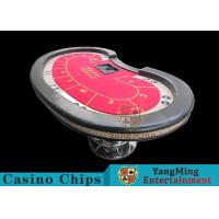 Professional Casino Game Table With 50mm High Elasticity Sponge Foreskin