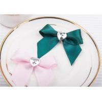 Buy cheap Decoration Tie Satin Ribbon Bow WashableHome Textile With Dyeing product