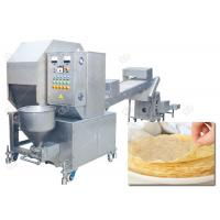 Buy cheap Commercial Injera Making Machine Automatic Crepe Machine 1000 Picecs / H from wholesalers