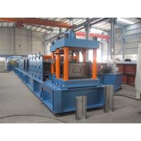 Cold Roll C Purlin Roll Forming Machine , Roofing Sheet Making Machine