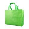 Eco Friendly Promotional Non Woven Shopping Bags 50gsm Green Non Woven Shoe Bag for sale