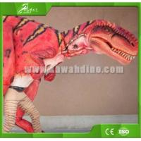 Buy cheap KAWAH Dinosaur Park Attractive Adult Life size Dinosaur Costumes For Sale product