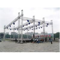 Custom Length Aluminium Trade Show Truss Display Stand Truss For Exhibition Show Manufactures