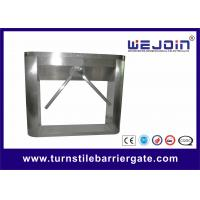 Buy cheap Stainless Steel Half Height Turnstile Gate Tripod Access Control Double from wholesalers