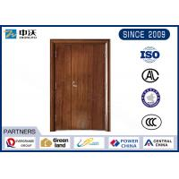 China 60 Minute Red Fireproof Interior Door For High Rise Commercial Building on sale
