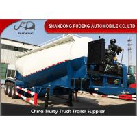 Buy cheap V Shape Bulk Cement Tanker Trailer With Diesel Engine FUWA / BPW Axle product