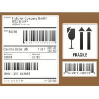 Buy cheap Scratch Off Logistic Labels , Self Adhesive Sticky Labels For Express / Parcel product