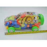 2 In 1 Mixed Colors Plastic Mini Building Block Sets Car Shaped Box Packing