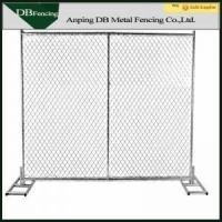 Buy cheap Heavy Duty 6'X12' Chain Link Temporary Fence For Playground / Residential product