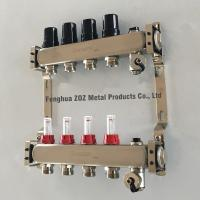 pre assembled stainless steel floor heating manifold set ,