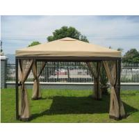 Buy quality Square Gazebo Patio Sun Shades With Mosquito Netting , Outdoor Wedding Tent at wholesale prices