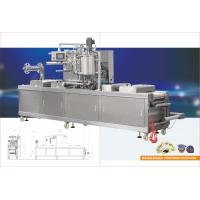 Auto paste thermoforming filling machine