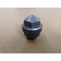 Sandblasting Stainless Steel Screw Caps For Extruder Machine for sale