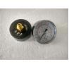 Buy cheap Black Back Entry Dry Pressure Gauge with Steel Black Case Pressure Gauge from wholesalers