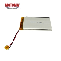 Buy cheap MOTOMA Lithium Ion Battery Cells , Rechargeable Li Ion Battery 3.7 V 4000mAh product