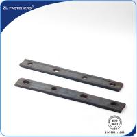 Buy cheap Portable Railway Track Fish Plate / Railroad Joint Bars For Track Joint 	    product
