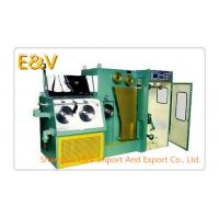Buy cheap 12Dt Copper Wire Rod Drawing Machine , 2500 MPM/ MAX Wire Drawing Machinery product