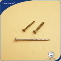 Buy cheap Zinc Plated Self Drilling Screw , Self Tapping Screws 2mm-100mm Length product