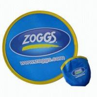 Buy cheap Foldable Nylon Flying Disc, Measures 10 x 10 Inches product