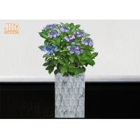 Buy cheap Clay Floor Vases Homewares Decorative Items Fiberclay Flower Pots Clay Plant Pots Marbling product