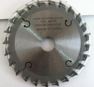 Buy cheap Diameter 120*Kerf 3.0/4.0*Teeth 24T*Hole 20mm TCT Carbide Tipped Scoring Sawblade product