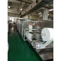 Buy cheap CE Wet Wipes Production Line 19KW Wet Installation Power Full servo motor product