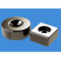Buy cheap Customized Ring Magnets Block Magnets 20 mm Countersunk Hole Magnets product