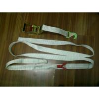 Buy cheap 50MM Polyester Car Trailer Tie Down Straps LC2500 DN EN12195-2 For Boat Lashing product